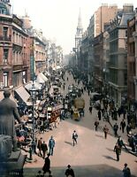 "1890-1900 Cheapside, London, England Vintage Photograph 8.5"" x 11"" Reprint"