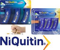 NIQUITIN MINIS 1.5mg-4mg MINT X 60 Lozenges (Choose Strength)