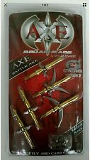 1 Pack. 5 broadheads Battle Axe 100Grain 2 blade -2 Inch