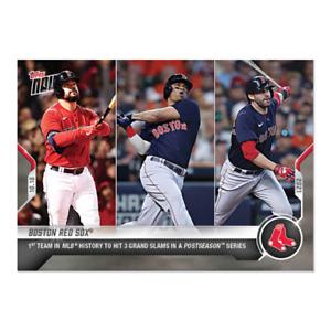 2021 Topps Now #984 Kyle Schwarber Devers J.D. Martinez Boston Red Sox PRESALE