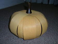"Longaberger - ""Maple Yellow Large Pumpkin"", New!"