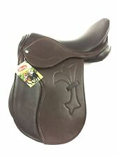 New Synthetic Leather English  All Purpose Jumping  Saddle Brown