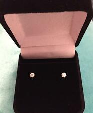 18ct Diamond Stud Earrings White Gold .20ct TDW Quality Settings -Sparkly