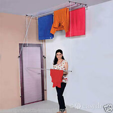 EasyDry  CEILING  MOUNTED PULLEY SYSTEM CLOTH DRYER 8 Ft with 4 lines