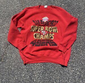 Nutmeg San Francisco 49ers Super Bowl Sweater