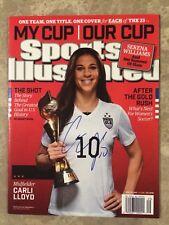USWNT Carli Lloyd Signed 2015 World Cup Sports Illustrated Magazine