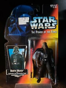 Darth Vader Star Wars Power of the Force Figure 1995 MISB New Sealed