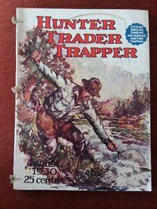 1930 Hunter Trader Trapper Magazine Remington Winchester Rifle Gun Trap Ads