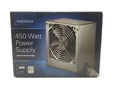 Insignia 450W ATX12V 2.4/EPS12V 2.92 80 Plus Power Supply Gray NS-PCW4508