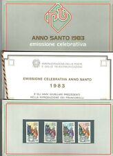 Filatelia Italia Folder Anno Santo 1983 Poste Italiane coppia
