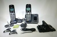 Panasonic Cordless Phone With Digital Answering System and 2 Handsets T3