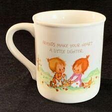 Vintage Betsey Clark Coffee Mug Mates Friends Hallmark Cards Stationery Co