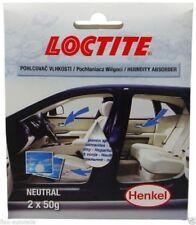 Henkel Loctite Humidity Absorber Feuchtigkeit Auto Kfz Luftentfeuchter 2x 50g