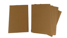 Corrugated Card A4 Natural colour - pack of 15 - 29.7cm x 21cm Arts and Crafts