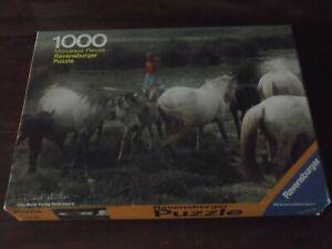 puzzle 1000 Pieces Ravensburger Camargue 1979
