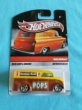 2009 Hot Wheels Sweet Treats DAIRY DELIVERY Tootsie Roll Pops CARD ISSUES Rare
