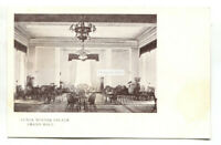 Luxor Winter Palace - Grand Hall - old Egypt postcard