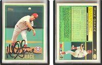 Mike Grace Signed 1997 Topps #242 Card Philadelphia Phillies Auto Autograph