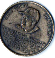 STAN MUSIAL BUSCH STADIUM COMMERATIVE COIN ST LOUIS CARDINALS HALL OF FAMER