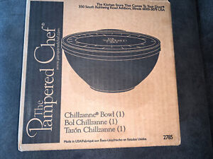 The Pampered Chef Chillzanne Large 12 Cups/3 Quarts Bowl #2785 Retired NOS