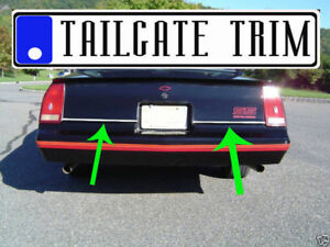 Chevy MONTE CARLO 1981-1988 Chrome Tailgate Trunk Trim Molding