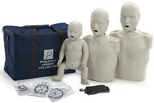 Prestan Adult + Child + Infant CPR  Manikin with Monitor - Light Skin