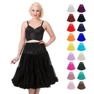 SUPER SOFT Rockabilly Retro 50s Underskirt Petticoat Banned Apparel Official