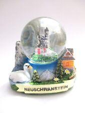Neuschwanstein Schneekugel 4,5 cm Snowglobe Germany Souvenir