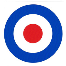 British MOD Cible Vinyle Autocollant Scooter 60 S The Who Jam RAF Logo Cocarde