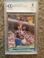 SHAQUILLE O'NEAL 1992 ULTRA BCCG 9 MINT GRADED NBA ROOKIE RC #32