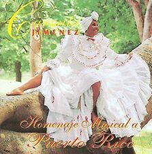 NEW - Homenaje Musical a Puerto Rico by Jimenez, Carmita