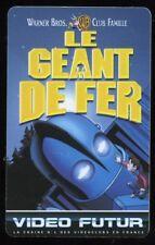 VIDEO FUTUR carte collector  LE GEANT DE FER   (132)