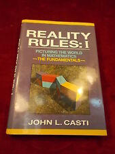 """1992 BOOK """"REALITY RULES: 1, PICTURING THE WORLD IN MATHEMATICS, FUNDAMENTALS"""""""