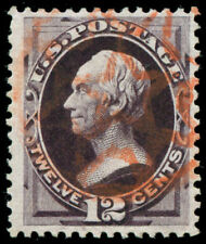 momen: US Stamps #162 Used Red PF Cert VF/XF