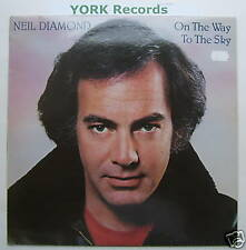 NEIL DIAMOND - On The Way To The Sky - Excellent Condition LP Record CBS 85343