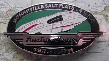 Quality Never Fitted Heavy Chrome Car Mascot Badge : 1954 Bonneville Salt Flats
