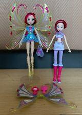 winx club mattel Tecna Enchantix and Tecna School Girl