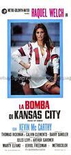 Kansas City Bomber 1972 Raquel Welch Italian locandina