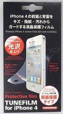 TUNEFILM Schutzfolie für iPhone 4 & 4S