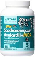 Jarrow Formulas Saccharomyces Boulardii + MOS, 5 Billion Cells Per Cap 180 Caps