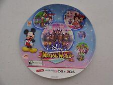 .DINSNEY MAGICAL WORLD NINTENDO 3DS 2DS STICKER PROMO DISPLAY  ZELDA MARIO