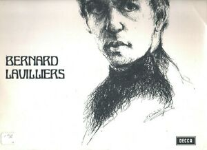 VINYLE 1ER 33 T DE BERNARD LAVILLIERS DECCA STEREO 110006NM NIKEL 1968