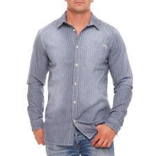 Camicie casual e maglie da uomo blu JACK & JONES in cotone