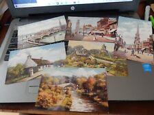 More details for 6 raphael tuck postcards ayr    set 7417     //storage  p7  loose
