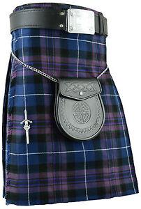Pride of Scotland Mens Kilt Tartan Kilts Highland dress