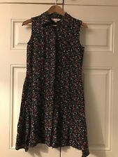 Yumi Tea Ditsy Skater dress size 10 Floral daisy