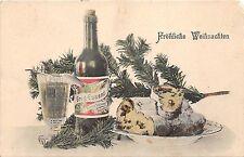 BG14733 festive table fir branch wine weihnachten christmas  germany