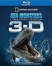 Sea Monsters - 3d and 2d Blu Ray - National Geographic - Postage