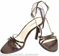 ALFANI Noelle black strappy leather Heels sexy Shoes high heel sandals SZ 7.5 M