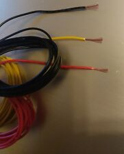 22 ga AWG Stranded Wire UL1007 Electronics Power 2m 6.5ft Red Black or Yellow